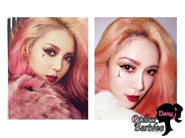 ❤[妝文]韓勾Pony女神の壞壞粉紅髮仿妝❤